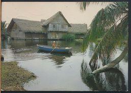 °°° 9400 - CUBA - CENTRO TURISTICO GUAMA - LAGUNA DEL TESORO - 1988 °°° - Cuba