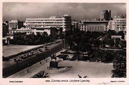 MAROC - CASABLANCA - LA PLACE LYAUTEY - Casablanca