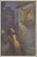 Hongrie - Illustrateur Adolph Karpellus Wien - Das Dreimäderlhaus House Three Girls - Franz Schubert - Postmarked 1924 - Hungary