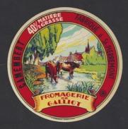Etiquette De Fromage  Camembert  -  Fromagerie Abel  Galliot  à  Saint  Pierremont (88) - Cheese