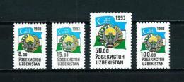 Uzbekistán  Nº Yvert  26/9  En Nuevo - Uzbekistán