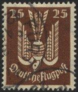 Dt. Reich 210 O, 1922, 25 Pf. Holztaube, Pracht, Gepr. Infla, Mi. 24.- - Deutschland