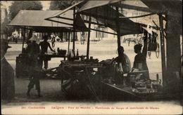 METIERS - MARCHAND DE GLACES - SAIGON - Marchand De Soupe - COCHINCHINE - Vietnam - Marchands Ambulants