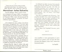 Gouvy Retigny  Jules Schmitz Vielsalm 1888  Retigny 1965 - Gouvy