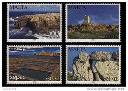 Malta 2009 - Scenery Stamp Set Mnh - Malta