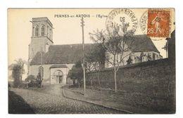 CPA 62 PERNES EN ARTOIS L'église - France
