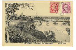 CPA 58 NEVERS VUE GENERALE PRISE DES MONTAPINS - Nevers