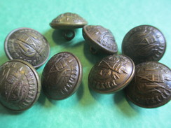 8  Boutons /Militaria/ Prytanée Militaire/Vers 1900-1930      BOUT126 - Buttons
