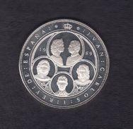 1989. 10000 PTAS PLATA QUINTO CENTENERIO - [ 5] 1949-… : Royaume