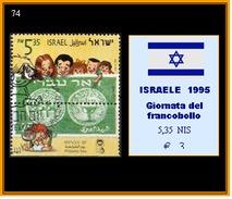 ISRAEL  1995 - Giornata Del Francobollo -  5,35 NIS - Israel
