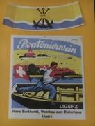 5430 - Pontonierwein 1975 Ligerz Suisse Vin Des Pontonniers - Militaire