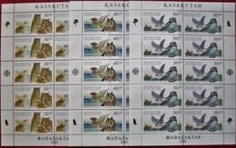 Kazakhstan 2001  Owis  Birds  3 M/S   MNH - Kazakhstan