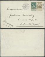 YY270 Lettre De Bruxelles à Detwald ( Allemagne Germany ) 1913 - 1912 Pellens