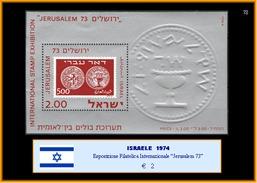 ISRAELE  1974 - Esposizione Filatelica Internazionale JERUSALEM 73 - Other