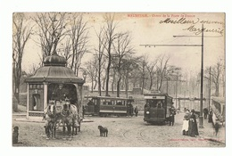 MAUBEUGE Octroi De La Porte De France. Tramways Très Animée - Maubeuge