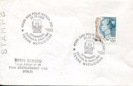 27554 Italia, Special Postmark 1999 San Polo, Dalai Lama Tibetan Buddhism People Leader - Buddhism