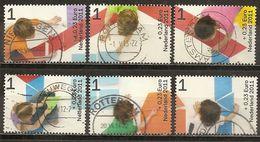 Pays-Bas Netherlands 2011 Bienfaisance For The Children Set Complete Obl - 1980-... (Beatrix)