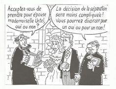 HUMOUR -MARIAGE DESSIN DE ELZINGRE - Humor