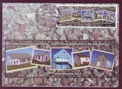 Carte Postale Philatélique - SAINT PIERRE ET MIQUELON - Iles-aux-Marins - 2012 - St.Pierre & Miquelon