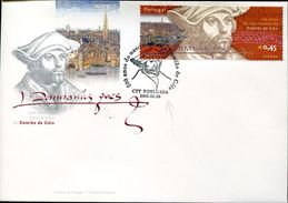 27570 Portugal, Fdc 2002, Painting Of Albrecht Durer Damian De Gois,  (postmark Ponta Delgada) - Arts