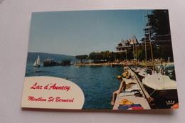 74 / Haute Savoie - Menthon Saint Bernard - Le Port Et Son Ambiance - Otros Municipios