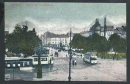 +++ CPA - ANTWERPEN - ANVERS - Place De La Commune - Tram   // - Antwerpen