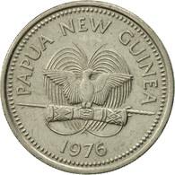 Papua New Guinea, 10 Toea, 1976, TTB, Copper-nickel, KM:4 - Papouasie-Nouvelle-Guinée