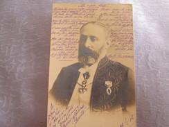 Sully  Prudhomme ; Carte Photo Reutlinger  ; Cachet Ambulant Les Arcs Nice - Célébrités