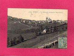 12 Aveyron, Rodez, Vue Générale Du Quartier Saint-Cyrice, 1919, (E. L. D.) - Rodez
