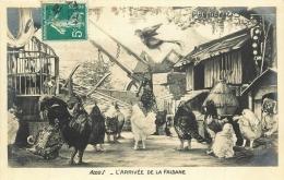 CHANTECLER      ARRIVEE DE LA FAISANNE - Animali Abbigliati