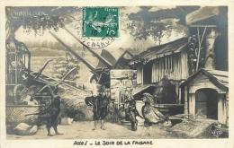 CHANTECLER   LE SOIR  DE LA FAISANNE - Animali Abbigliati