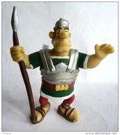 FIGURINE ASTERIX PLASTOY 1999 LEGIONNAIRE ROMAIN Avec Lance - Asterix & Obelix