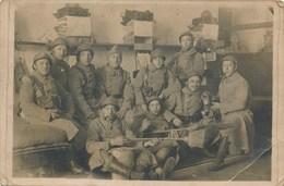 Carte Photo D' Une Chambre Militaire   21e Régiment D' Infanterie ( Langres Je Pense ) - Langres