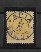 SAMOA POSTE LOCALE YVERT TELLIERNR. 5 OBLITERATION AN 1885 APIA - Samoa