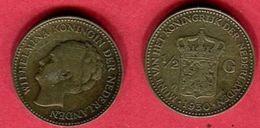 1/2 GULDEN  ( KM160)TB 4 - 1/2 Gulden