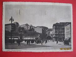 TRIESTE - PIAZZA GOLDONI, VIAGGIATA - Trieste