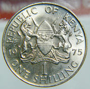 [NC] KENYA - ONE SCHILLING 1975 - Kenya