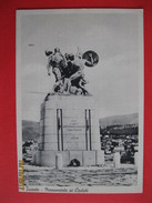 TRIESTE - MONUMENTO AI CADUTI, VIAGGIATA - Trieste