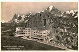 CPA N°11701 - MURREN - HOTEL EDELWEISS MIT JUNGFRAUGRUPPE - BE Berne