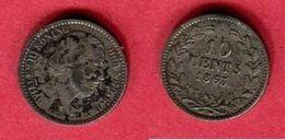 10 CENT   ( KM80)TB  46 - 1849-1890: Willem III.