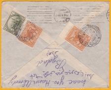 1928  - عراق   Iraq - Irak - Enveloppe Par Avion De  Baghdad, Iraq  Vers Livourne, Italie Via Le Caire, Egypte - Iraq