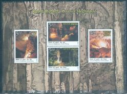 Caves Of India, 4V, MS, 2017 - Geology