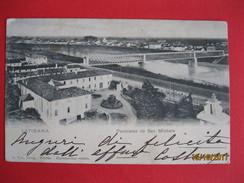 UDINE - LATISANA, PANORAMA DI SAN MICHELE, VIAGGIATA 1901 - Udine