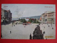 TRIESTE - PIAZZA GRANDE, VIAGGIATA - Trieste