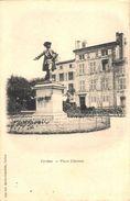 Verdun - Place Chevert (édit. Martin-Colardelle) - Verdun