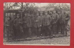 Lettonie  --  Kurland  - Carte Photo Soldats Allemands  5 Ersatz Div  -- 23/7/1917 - Latvia