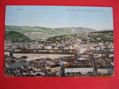 TRIESTE - PANORAMA DELLA CHIESA DEI CAPUCCINI, Ed.Purger & Co., VIAGGIATA - Trieste