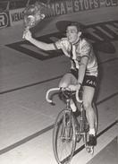 CYCLISME     PATRICK SERCU CHAMPION D' EUROPE D'OMNIUM 1969   PHOTO DE PRESSE  (13X18) - Cycling