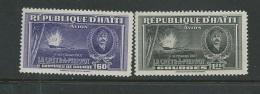 Haiti - Aérien - Yvert N° 22 Et 23 Deux Valeurs * -  Bce 8801 - Haiti