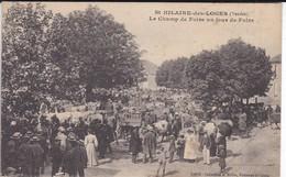85---SAINT-HILAIRE-DES-LOGES--le Champ De Foire Un Jour De Foire--voir 2 Scans - Saint Hilaire Des Loges